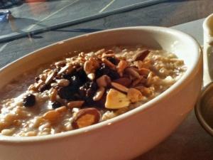 brunch oatmeal