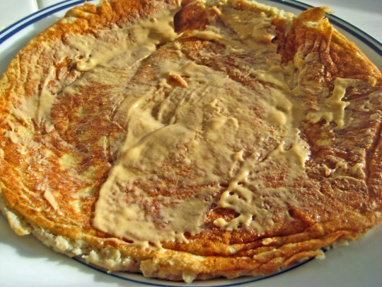 2 ingredient banana pancake
