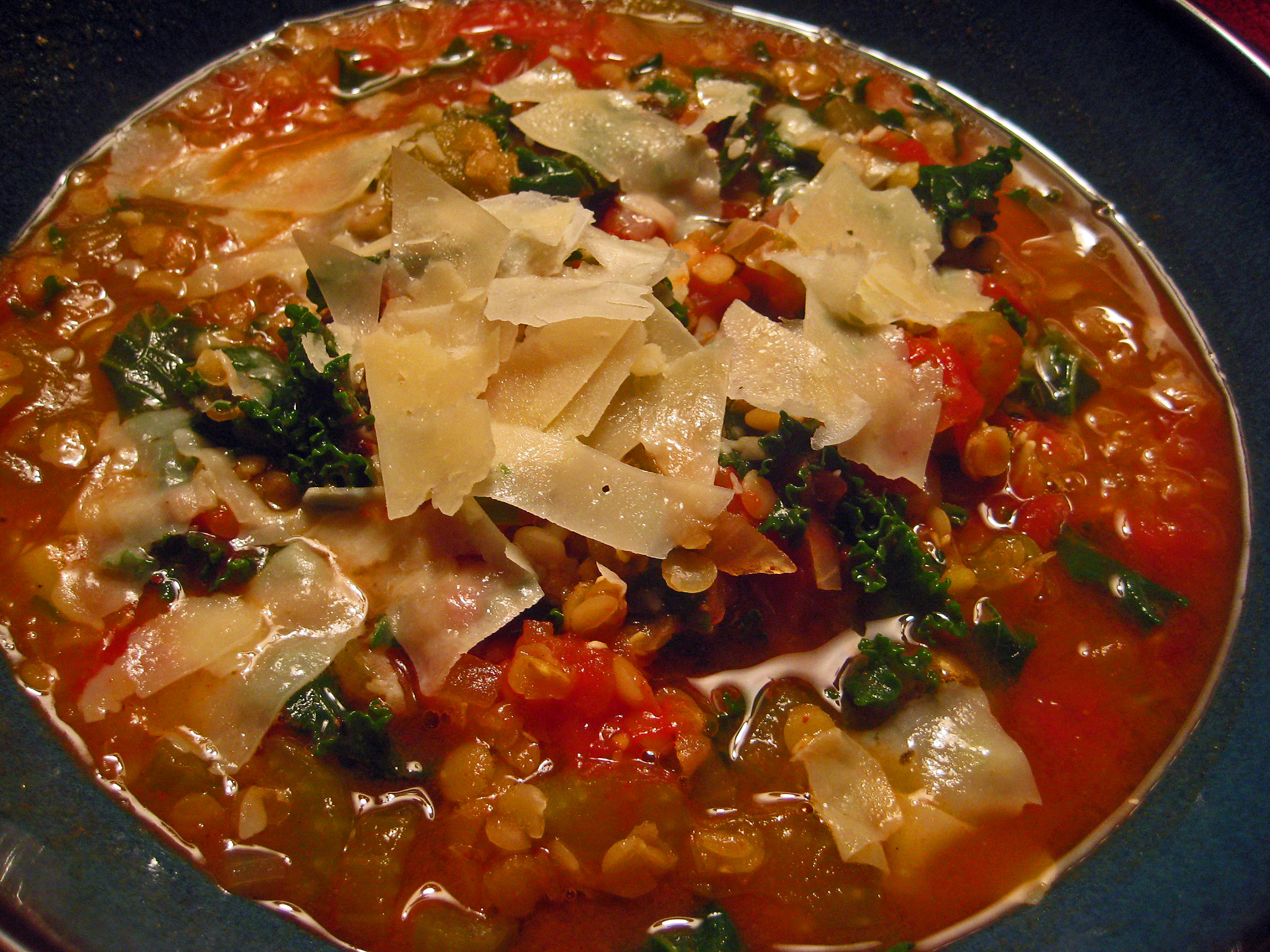 Spiced Red Lentil, Tomato, And Kale Soup Recipes — Dishmaps