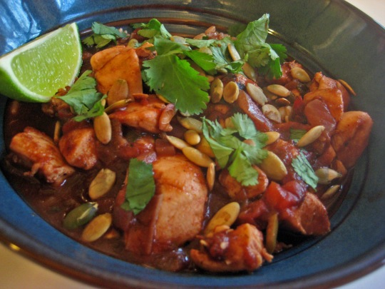Chicken Mole 3