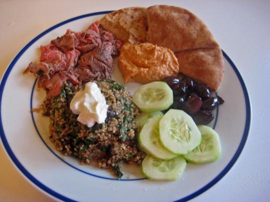 Greek Quinoa Mezze