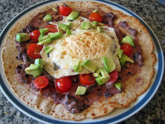 Mexican Breakfast Pizza 1