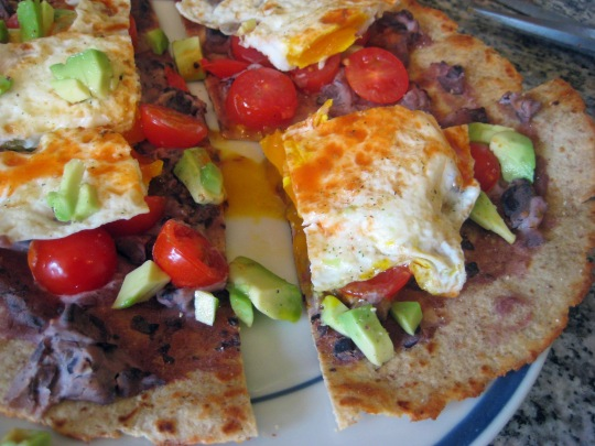 Mexican Breakfast Pizza 2