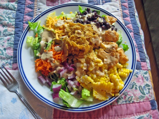 Veggie Cobb Salad 1