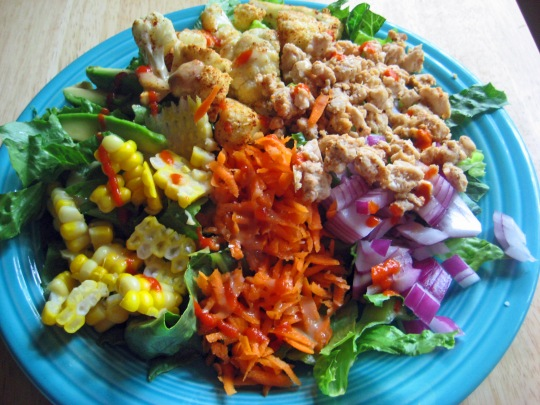 Veggie Cobb Salad 2